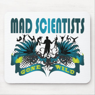 Mad Scientists Gone Wild Mouse Mat