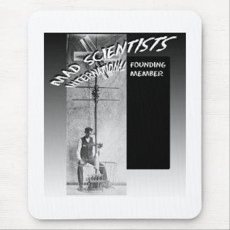 Mad Scientists International-Flying Eggbeater Mouse Pad