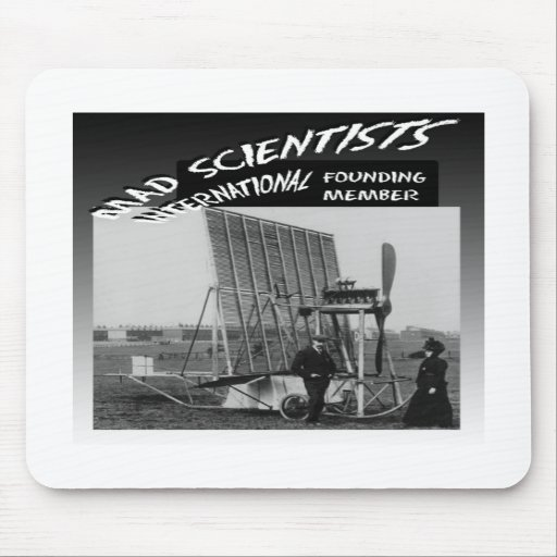 Mad Scientists International-Flying Venetian Blind Mouse Pads