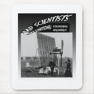 Mad Scientists International-Flying Venetian Blind Mouse Pad