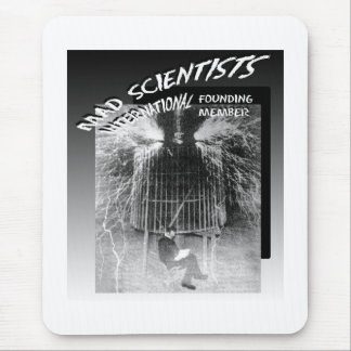 Mad Scientists International-Nicola Tesla Mouse Mat