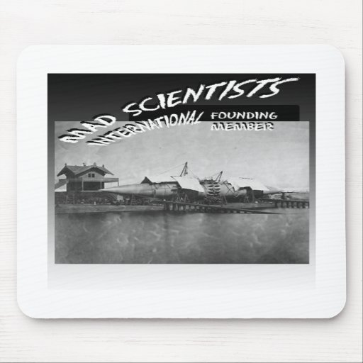 Mad Scientists International-Winan Cigar Ship Mouse Pads