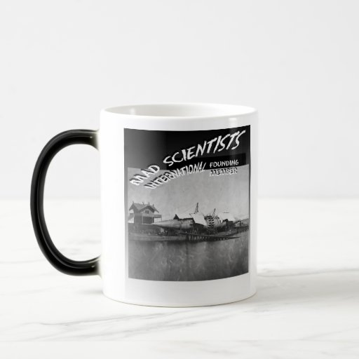 Mad Scientists International-Winan Cigar Ship Coffee Mug