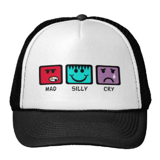 Mad Silly Cry Trucker Hats
