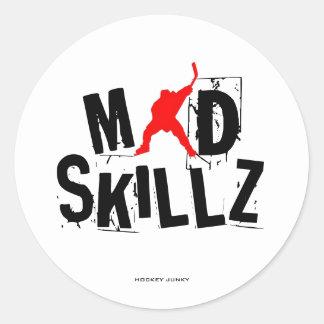 MAD SKILLZ CLASSIC ROUND STICKER