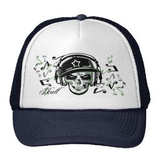 MAD SKULL 2 (long) Mesh Hats