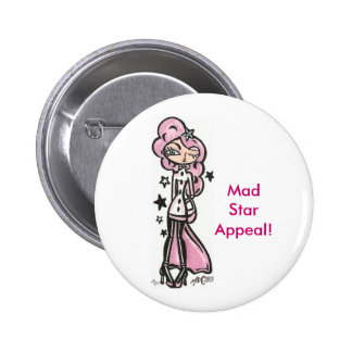 Mad Star Appeal Buttons