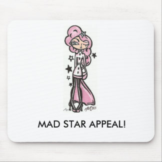 Mad Star Appeal Mouse Pad