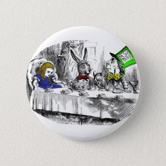 Mad Tea Party 6 Cm Round Badge