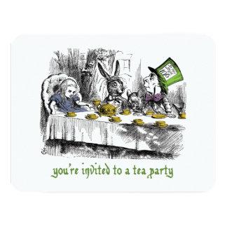 Mad Tea Party Invitations