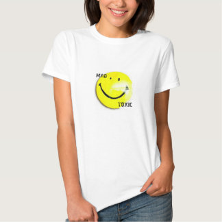 Mad Toxic Smiley Face Women's T-shirt