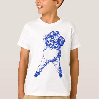 Mad Tweedle Dee Inked Blue T-Shirt
