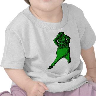 Mad Tweedle Dee Inked Green Fill T-shirt