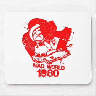 Mad World 1980's Mouse Pad