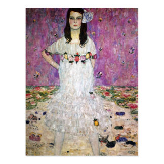 Mada Primavesi by Gustav Klimt Postcard