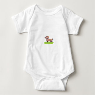 """madaboutdachshunds """"M.A.D"""" Baby Bodysuit"""