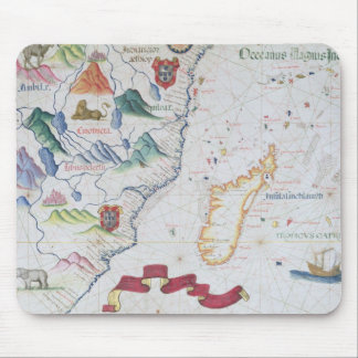 Madagascar and East African Coastline Mouse Mat