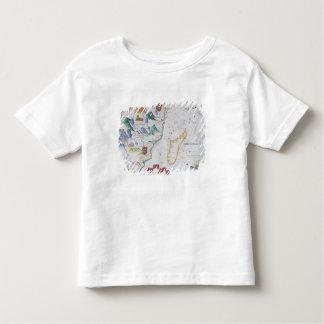 Madagascar and East African Coastline Toddler T-Shirt