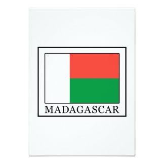 Madagascar card 13 cm x 18 cm invitation card