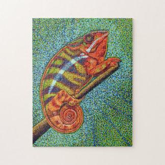 madagascar Chameleon Puzzle