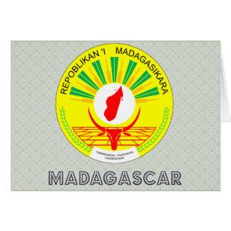 Madagascar Coat of Arms Greeting Card