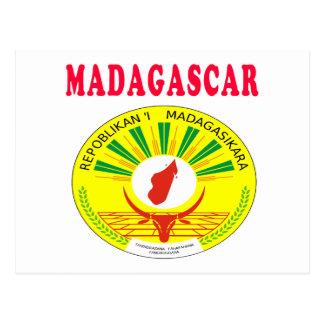 Madagascar Coat Of Arms Designs Postcard