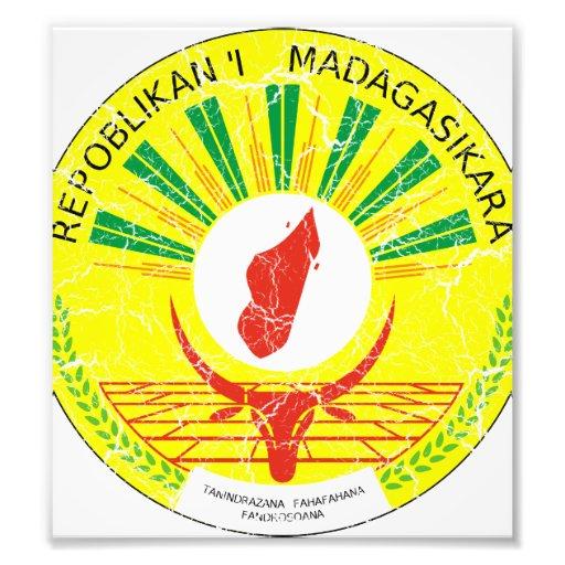 Madagascar Coat Of Arms Photo Print