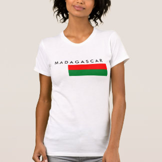 Madagascar country long flag nation symbol republi T-Shirt