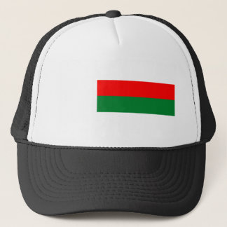 Madagascar country long flag nation symbol republi trucker hat