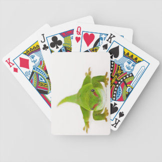 Madagascar day gecko (Phelsuma madagascariensis) Bicycle Playing Cards