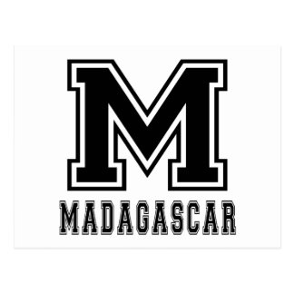 Madagascar Designs Postcard