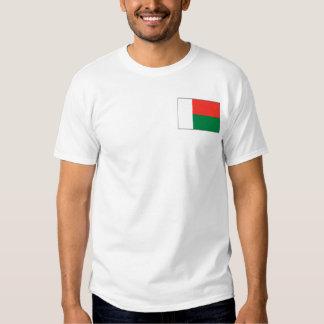 Madagascar Flag and Map T-Shirt