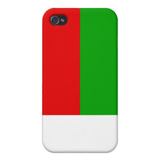 Madagascar Flag Cover For iPhone 4