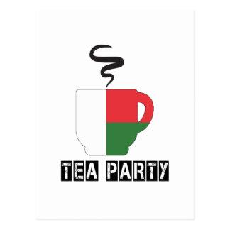 Madagascar Flag Designs Postcard