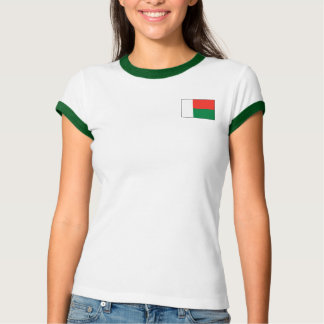 Madagascar Flag + Map T-Shirt