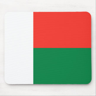 Madagascar Flag Mousepad