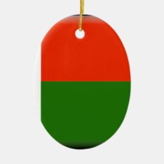 Madagascar Flag Ornament