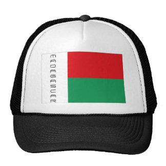 Madagascar flag souvenir hat