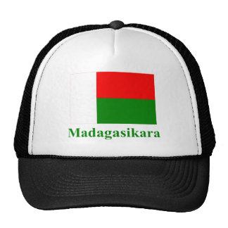 Madagascar Flag with Name in Malagasy Cap
