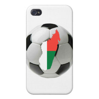Madagascar football soccer iPhone 4/4S cases