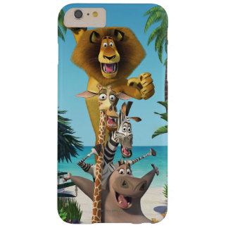 Madagascar Friends Support Barely There iPhone 6 Plus Case