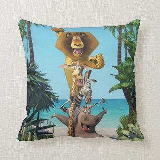 Madagascar Friends Support Cushion