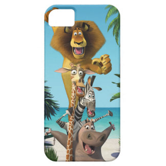 Madagascar Friends Support iPhone 5 Cases