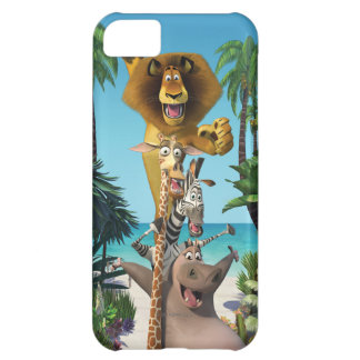 Madagascar Friends Support iPhone 5C Case