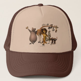Madagascar Friends Trucker Hat