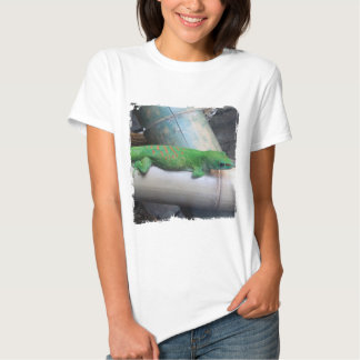 Madagascar Giant Day Gecko Ladies Babydoll T-Shirt