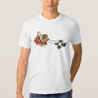 Madagascar Holiday Sled T-shirts