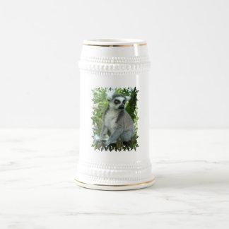 Madagascar Lemur Beer Stein Mug