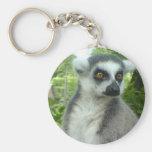 Madagascar Lemur Keychain