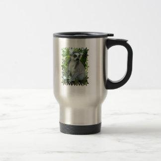 Madagascar Lemur Stainless Travel Mug